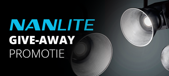 Nanlite Studio Lampen Give Away Promotie