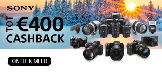 Sony lens & camera Cashback