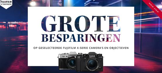 Fujifilm X-serie kassakorting