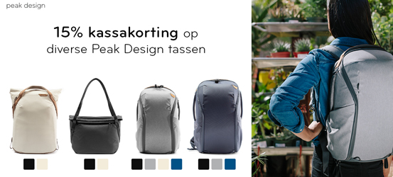 Peack Design Promotion - 15% korting
