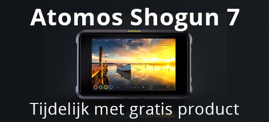 Tijdelijk gratis product bij Atomos Shogun 7