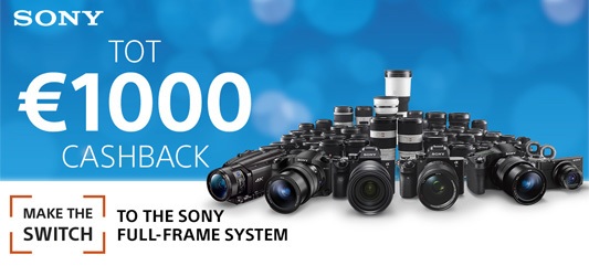 Sony Cashback & Trade-In voorjaar