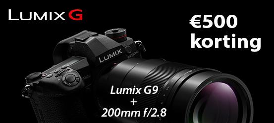€500,- korting op een Panasonic Lumix G96