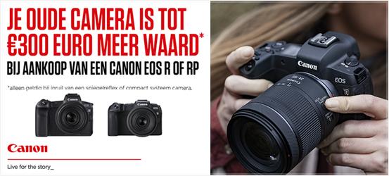 Canon EOS R & RP Inruilactie