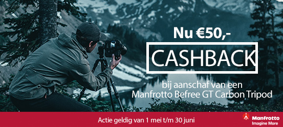 Manfrotto BeFree Carbon Cashback
