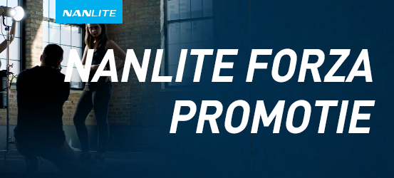 Nanlite Forza promotie