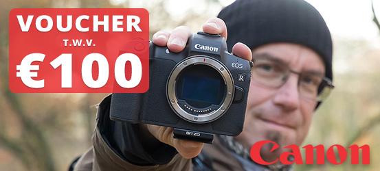 100 euro Canon tegoed