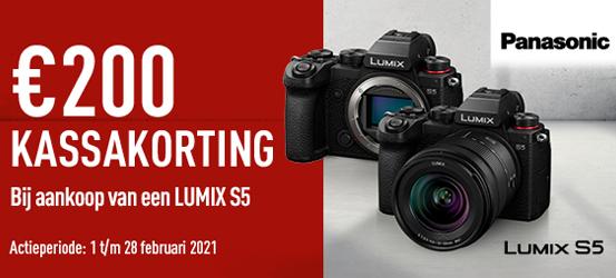 Kassakorting Panasonic Lumix DC-S5