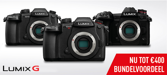 Panasonic Lumix G Bundelpromotie