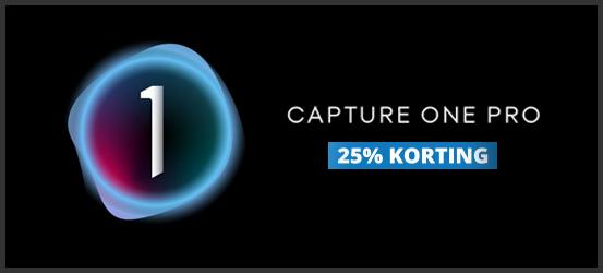 25% Korting op Capture One Pro 21