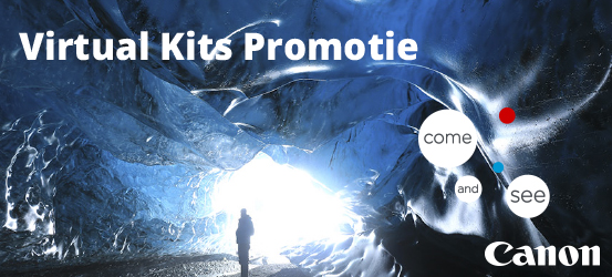 Canon Virtual Kits Promotie