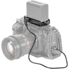 SmallRig 2698 NP-F Batt. Adap. Plate for BMPCC 4K/6K Cameras