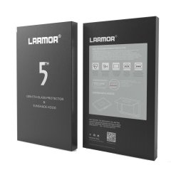GGS V Larmor 5th Gen Screen Protector en Sunshade Hood voor Sony A7II/A7SII/A7RII/A77II/A99II