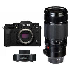 Fujifilm X-T4 Zwart + XF 50-140mm + XF 1.4X Teleconverter