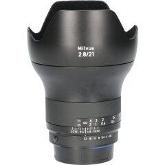 Tweedehands Carl Zeiss Milvus 21mm f/2.8 ZF.2 Nikon F CM4895