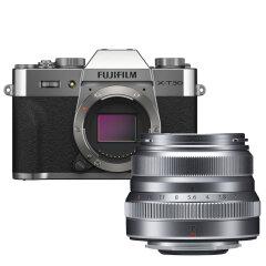 Fujifilm X-T30 II Zilver + XF 35mm f/2.0 WR Zilver