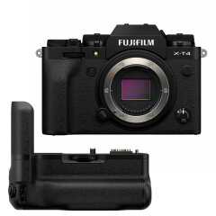 Fujifilm X-T4 Zwart + VG-XT4 Powergrip