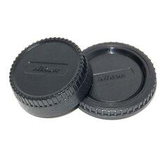 Caruba Body + lensdop set Nikon LB-NI1