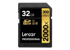 Lexar SDHC Pro 2000x UHS-II 300MB/s - 32GB