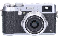 Tweedehands Fujifilm FinePix X100T - Zilver Sn.:CM2957
