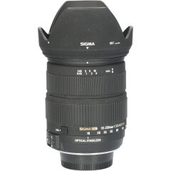 Tweedehands Sigma 18-200mm f/3.5-6.3 DC OS HSM Macro Contemporary Nikon CM4935
