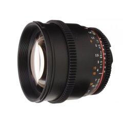 Samyang 85mm T1.5 VDSLR II Sony E