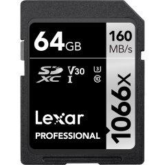Lexar SDXC Professional UHS-I 1066x 64GB