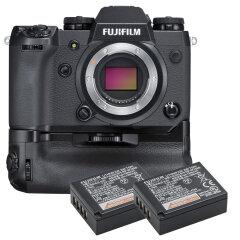 Fujifilm X-H1 + VPB-XH1 Batterygrip + 2x accu