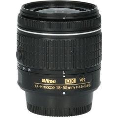 Tweedehands Nikon AF-P DX 18-55mm f/3.5-5.6 G VR CM9929