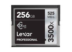 Lexar CFAST Pro 256GB 3500x speed CF kaart