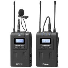 Boya BY-WM8 Pro-K1 UHF Duo Lavalier Microfoon Draadloos