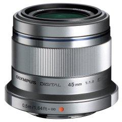 Olympus M.Zuiko Digital ED 45mm f/1.8 - Zilver