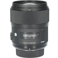 Tweedehands Sigma 35mm f/1.4 DG HSM Art Nikon CM2651