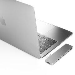 Hyper Pro hub for USB-C silver