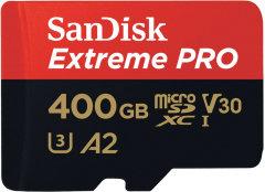 SanDisk microSDXC Extreme Pro 400GB (A2/ V30/ U3/ R170/ W90)