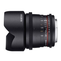 Samyang 10mm T3.1 VDSLR ED AS NCS CS II Canon EF