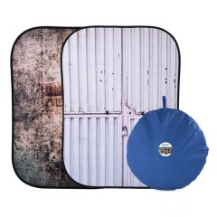Lastolite Urban Collapsible 150x210cm  - Tarnished Metal/Container
