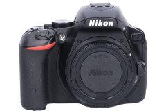 Tweedehands Nikon D5500 zwart - Body Sn.:CM3888
