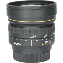 Tweedehands Sigma 8mm f/3.5 EX DG Fisheye Nikon CM1487