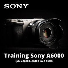 Training Sony A6000 - 20 augustus