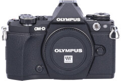 Tweedehands Olympus E-M5 Mark II Body Zwart Sn.:CM7358