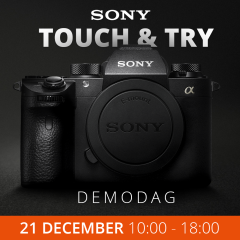 Sony Touch & Try Demodag