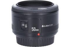 Tweedehands Yongnuo EF YN 50mm f/1.8 Canon Sn.:CM5015