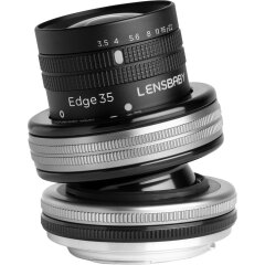 Lensbaby Composer pro II  met Edge 35 voor Micro Four Thirds