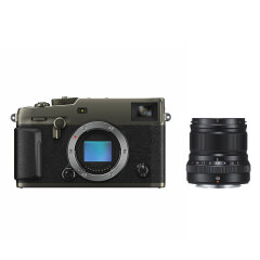 Fujifilm X-Pro3 Titan Dura Zwart + XF 50mm f/2.0 R WR