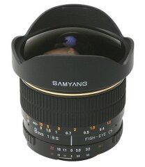 Samyang 8mm f/3.5 Fisheye UMC CS-II Canon