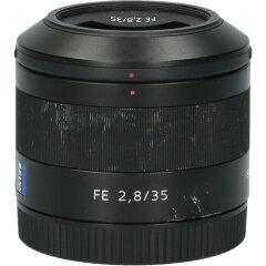 Tweedehands Sony Sonnar T* FE 35mm f/2.8 ZA CM9941