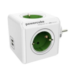 Allocacoc PowerCube Original USB Groen