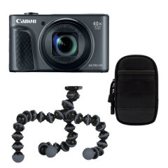 Canon Powershot SX740 HS Black Travel kit