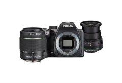 Pentax K-70 Zwart + 18-50mm + 50-200mm